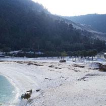 Und der Marmaradika-Strand