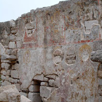 Chalki: Fresken der Nikolaos-Kirche im Kastro