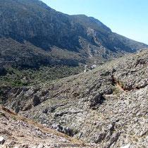 Am Pass zwischen Vathy und Arginonta