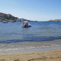 An der Bucht von Vourkari