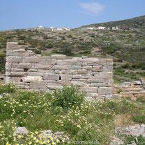 Amorgos: Pirgos Agia Triada bei Arkessini