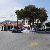 Kreisverkehr in Styra