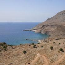 Kreta: Blick zum Lykos- und Marmara-Strand