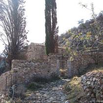 Nach Agios Loukas und Agii Pateres