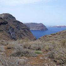 Blick entlang der Westcaldera