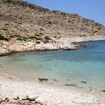 Chalki: Kania-Strand