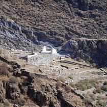 Die archäologische Stätte von Karthea