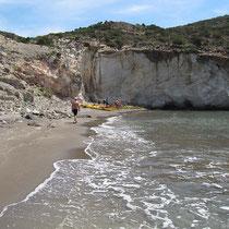 Der Gerontas-Strand
