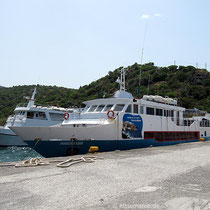 Die Panagia im Hafen