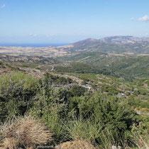 Das Hinterland von Marmari