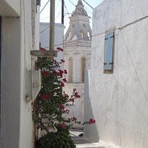 In Chora: Glockenturm von Agia Anna