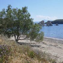 Der Mavrospilia-Strand