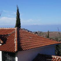 Blick über das Kloster ....