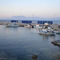 Kasos: Der Fährhafen