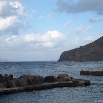 Hafen von Malfa