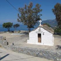 Kapelle bei Evdilos