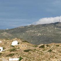 Wolken am Berg