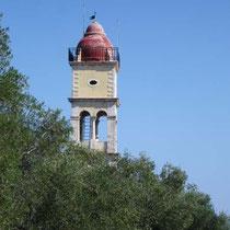 Glockenturm von Agios Charalampos