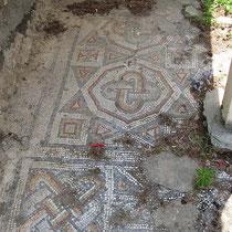 Frühchristliches Mosaik