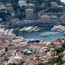 Der Hafen von Hydra
