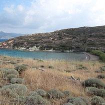 Die Livadaki-Bucht