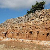 Agios Andreas - antike Mauer