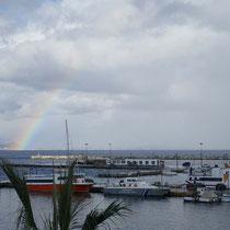 Heute nur ein Regenbogenstück