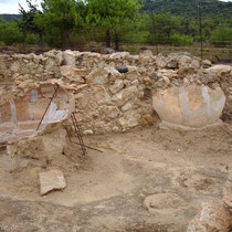 Gavdos. Ausgrabungen bei Sarakiniko