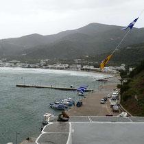 Die Bucht von Platys Gialos