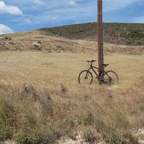 Fahrrad abschliessen nicht vergessen!