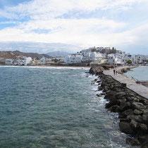 Blick auf Naxos-Stadt
