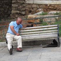 Athen macht müde