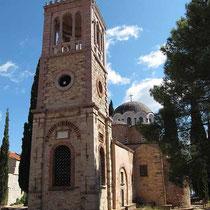 Der wiederaufgebaute Glockenturm