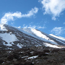 Eingerahmt von hohen Bergen