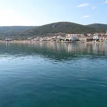 Hafenbecken von Megalochori