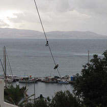 Blick nach Paros