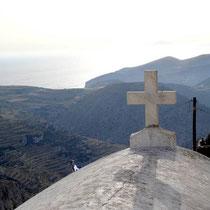 Folegandros: Bei der Panagia-Kirche