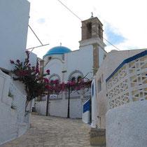 Die Hauptkirche Agios Ioannis Theologos