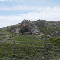 Eine Höhle