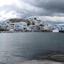 Die Altstadt von Naxos