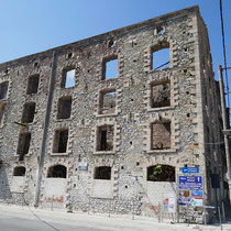 Eine alte Mühle der Paralia