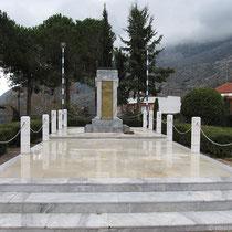 Denkmal in Gerakari