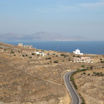 Die karge Nordostküste, und Tinos