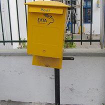 Wenn die Post keine Lust hat...
