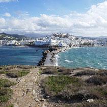 Und natürlich der Naxos-Blick