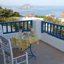 Frühstück auf Balkonien