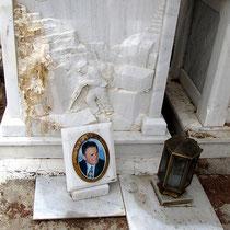 Grab eines Marmorarbeiters