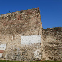 Byzantinische Stadtmauer an der Oberstadt