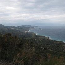 Blick zum Kap Mochlou