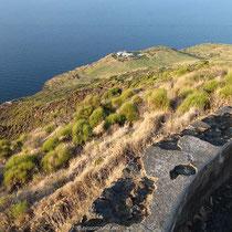 Das Plateau an der Punta Labronzo
